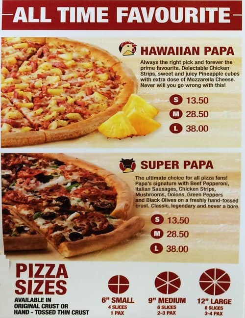 photograph relating to Papa Johns Printable Menu named Papa john menu and charges - Ugg shop sf
