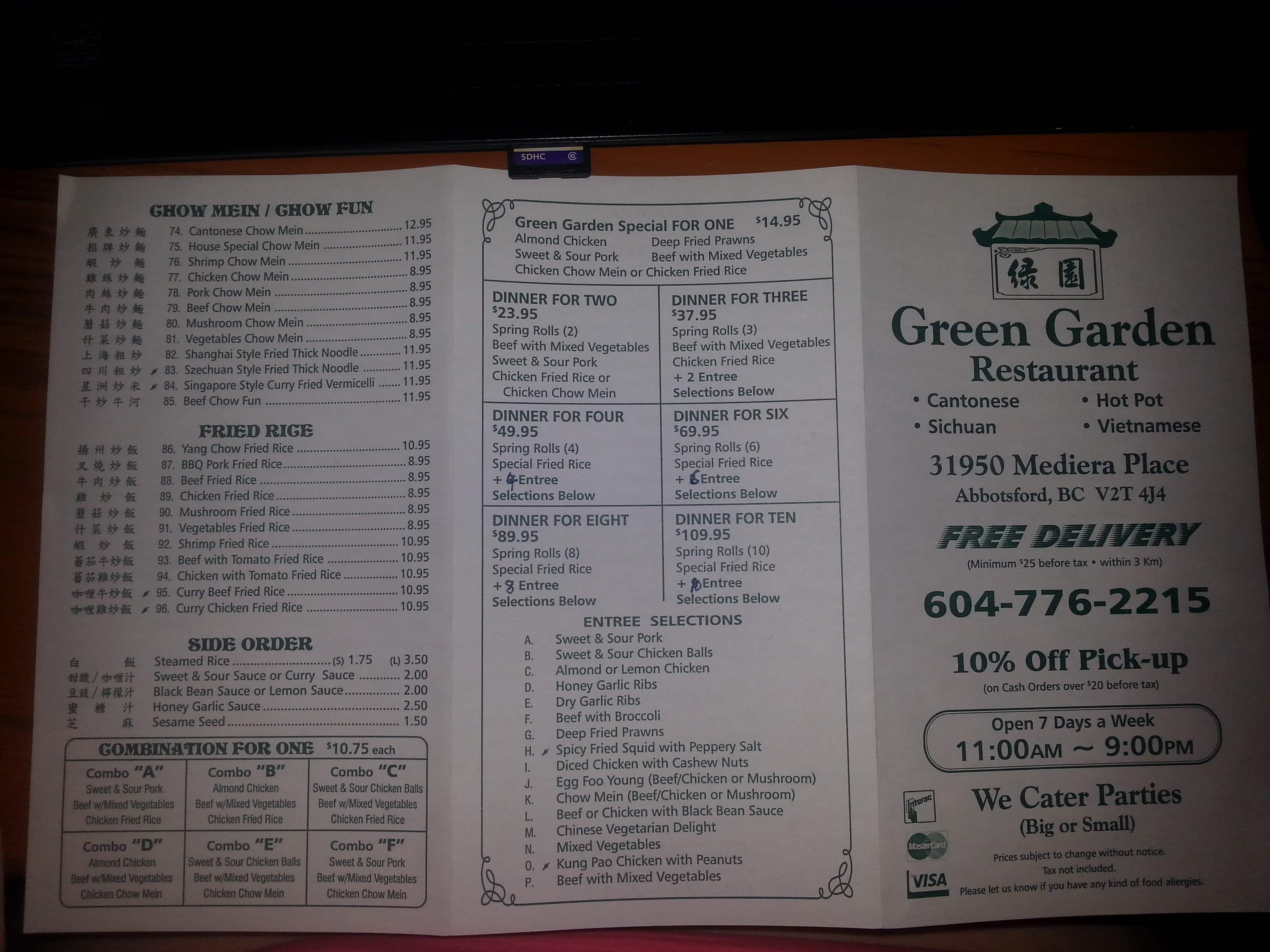 Pea Garden Cafe Menu Garden Ftempo