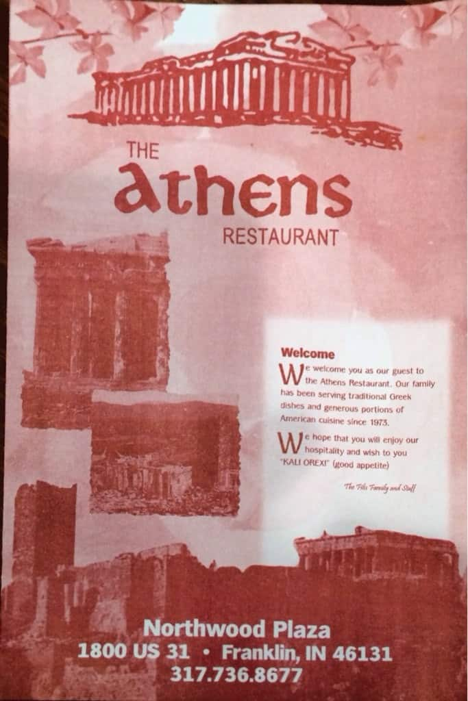 Athens Restaurant Steak Menu Urbanspoon Zomato