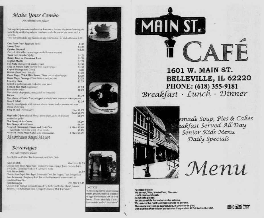 Restaurants On West Main In Belleville Il