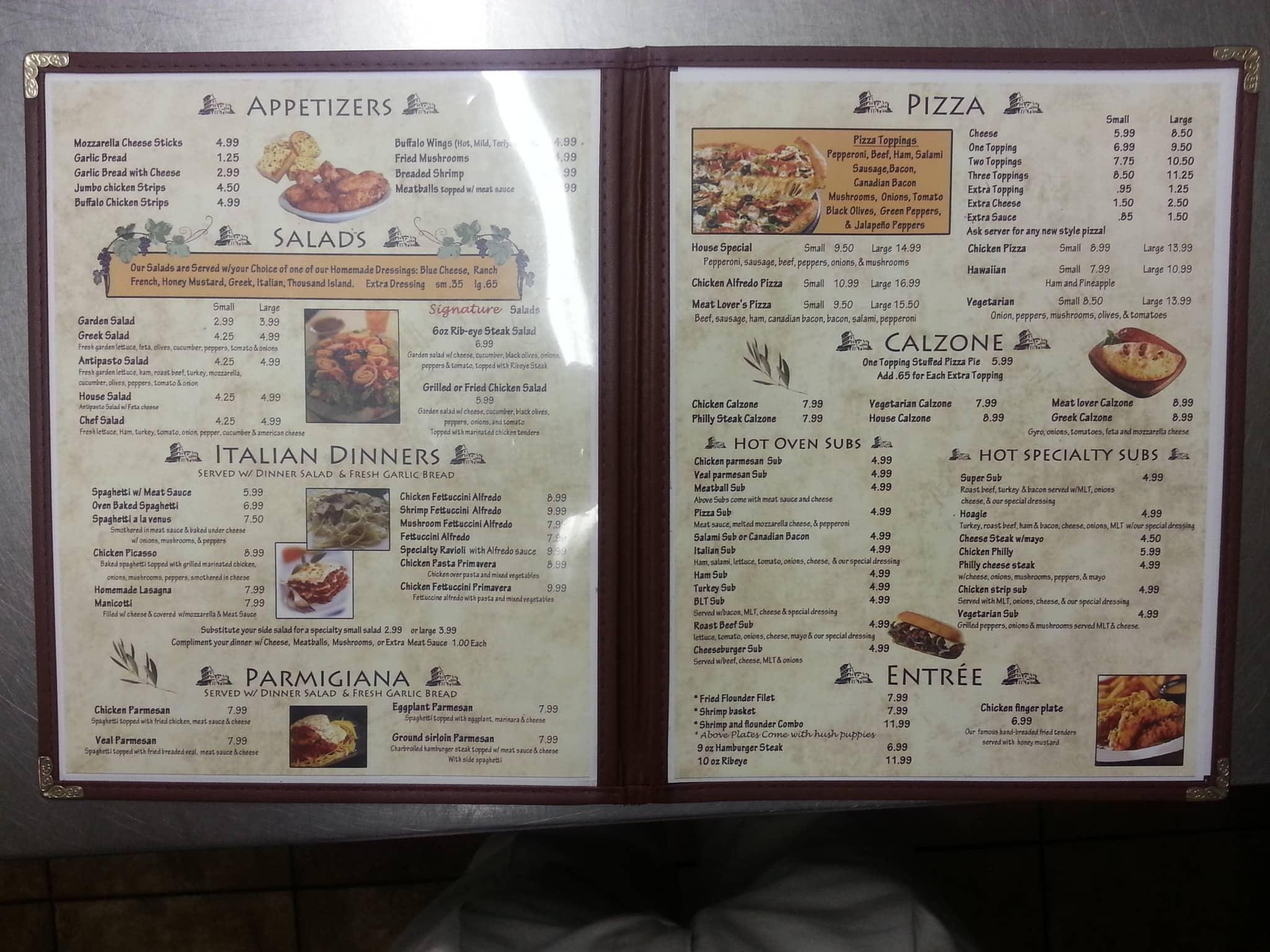 Pete S Family Restaurant Jonesville Menu