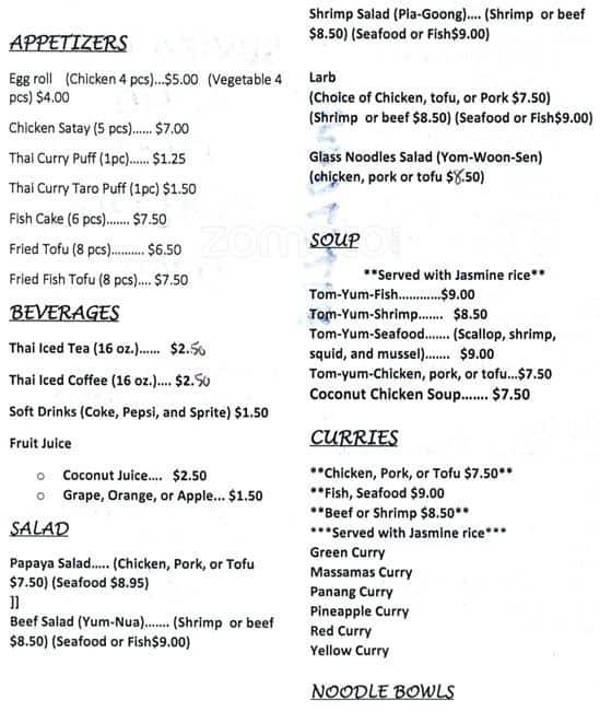 Thai Food Denver Colorado Blvd