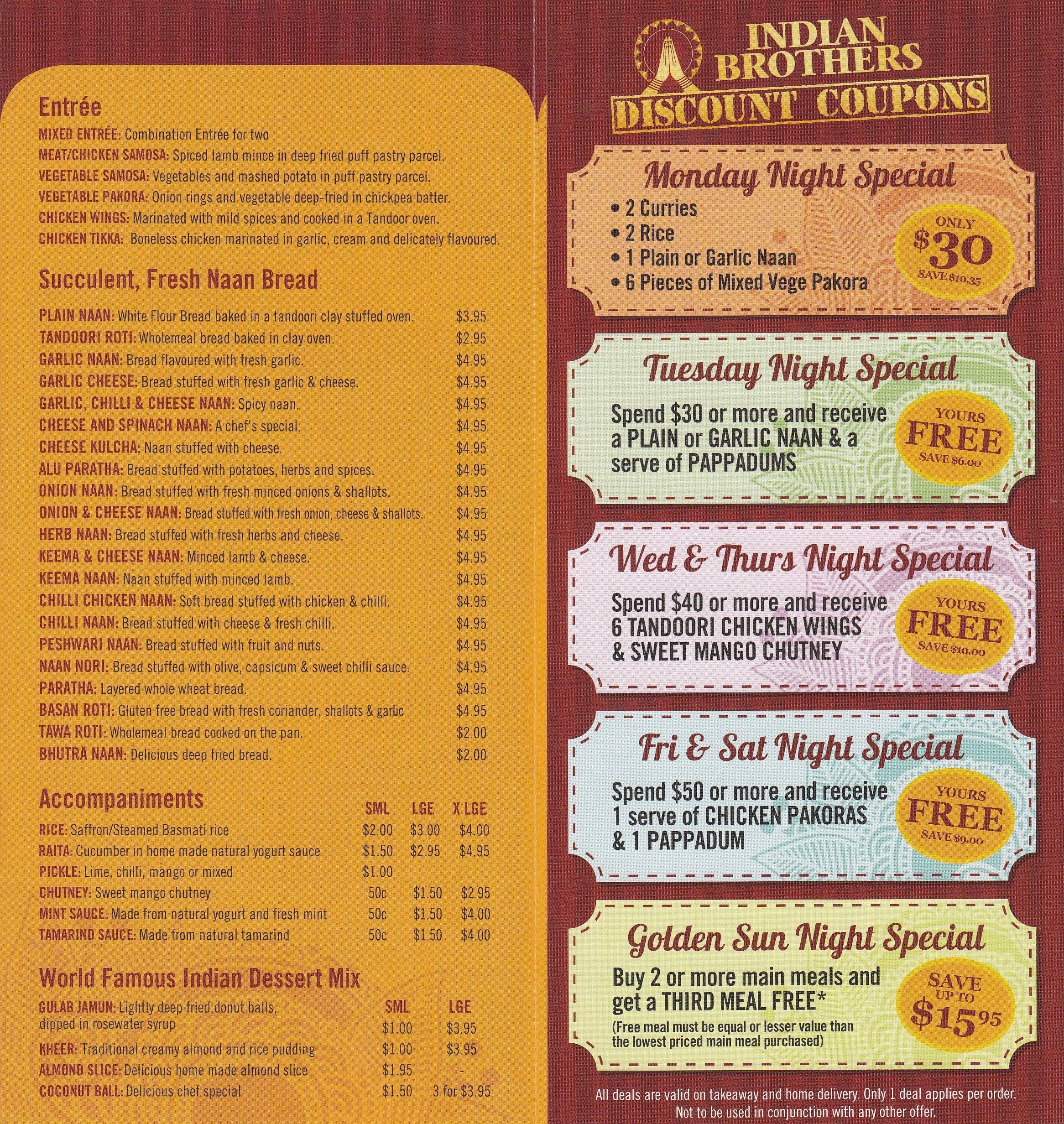 Indian Brothers Restaurant Morningside