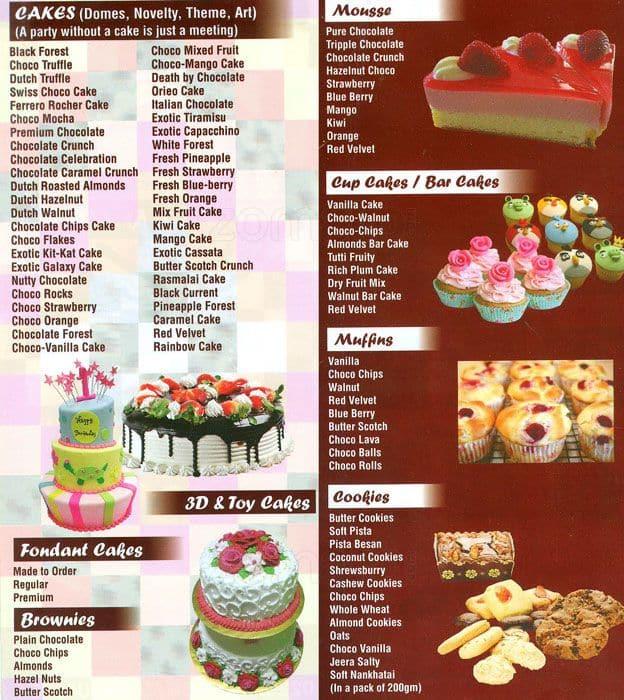 The Oven Hot Cake Shop Menu Menu For