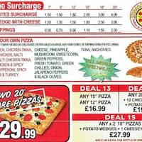 Indiano Pizza Forest Gate London Zomato Uk