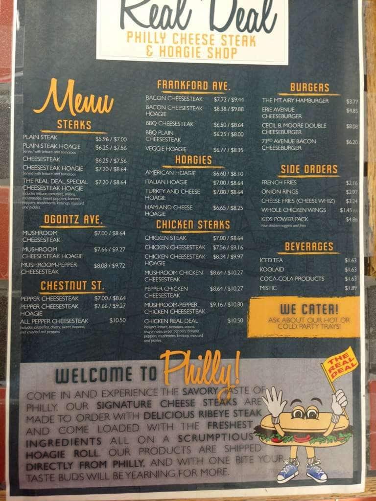 Monarch  Cafe Menu