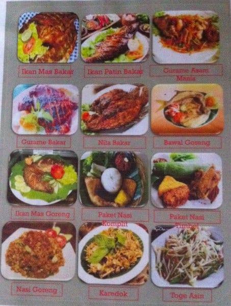 Resto Kranggan Cafe Menu Menu Para Resto Kranggan Cafe Setu