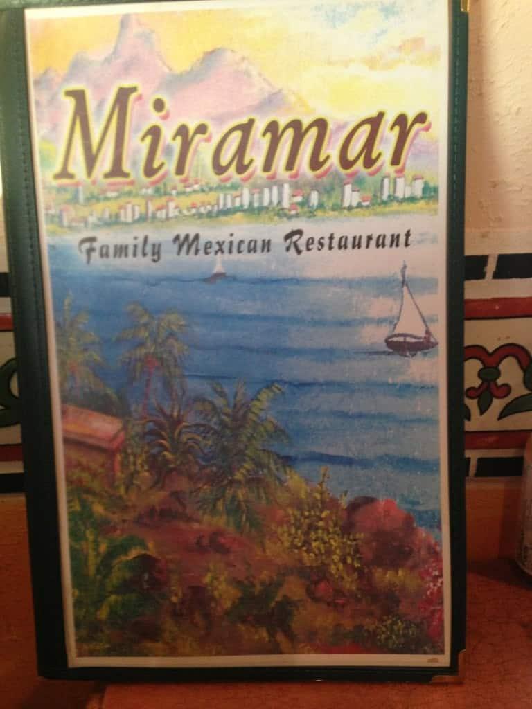 Mira Mar Mexican Restaurant Dallas Menu