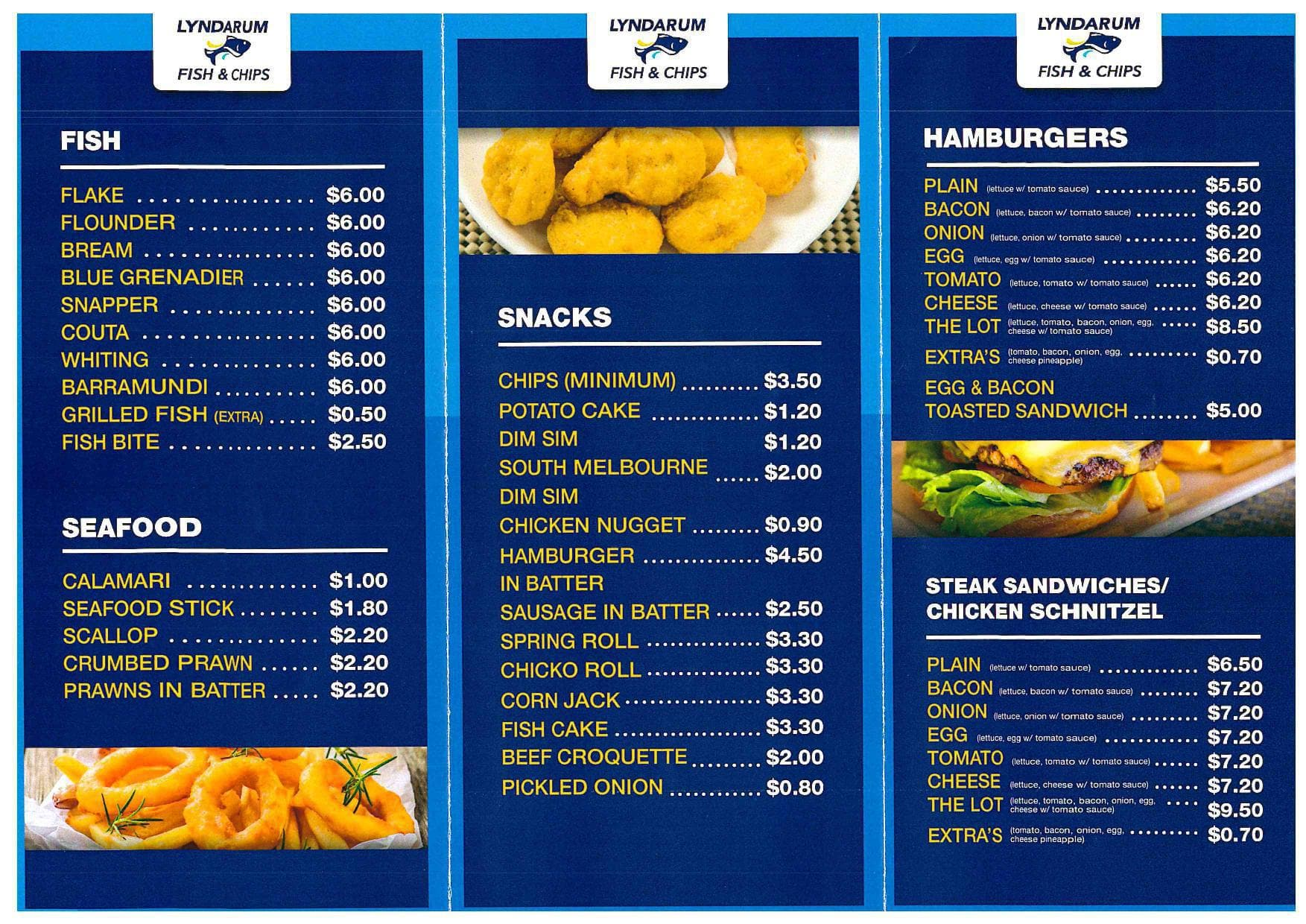 chippy menu singapore