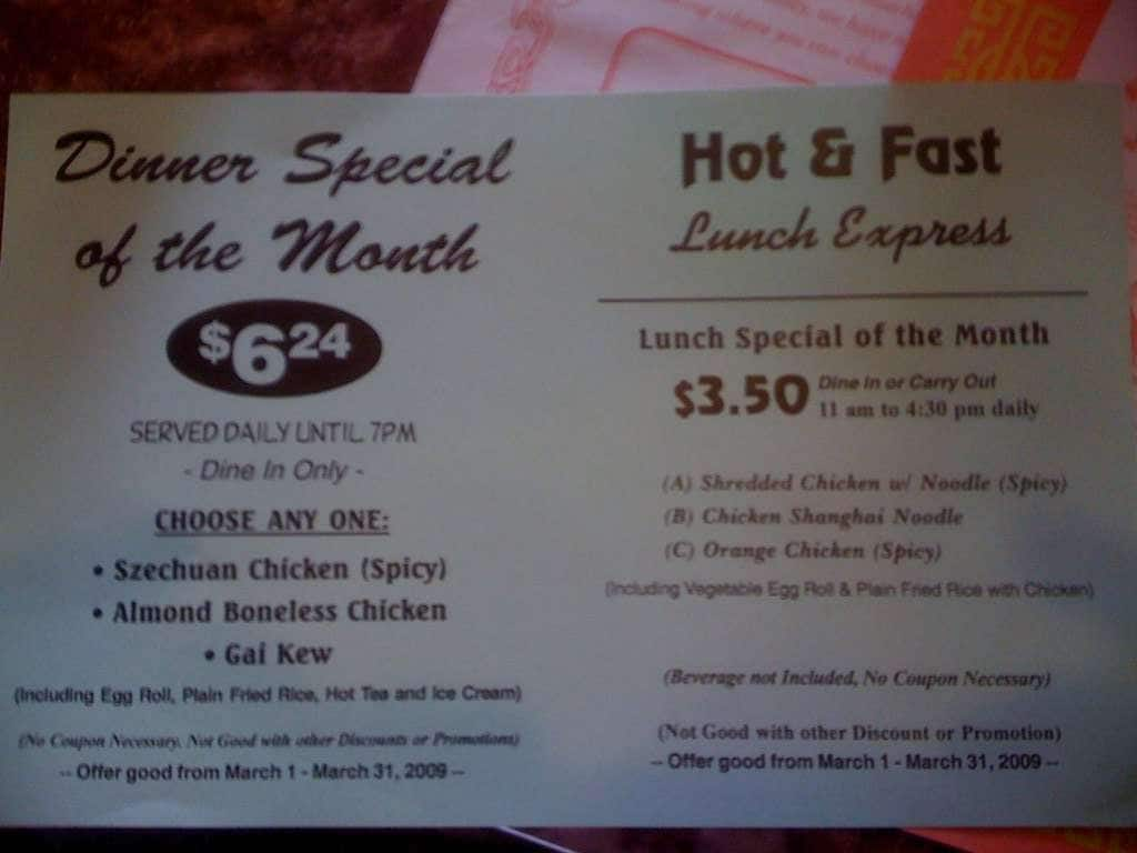 Oceania Chinese Food Rochester Michigan