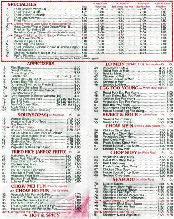 chinese food washington heights | Food
