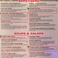 Rainforest Cafe Menu Michigan