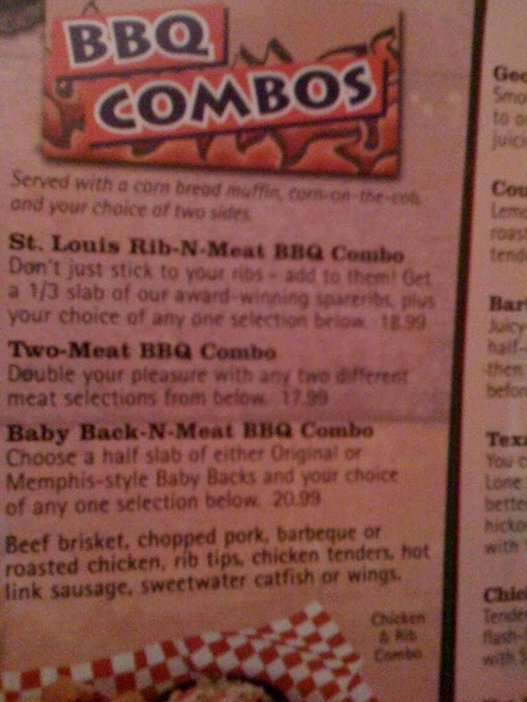 famous dave's bbq menu, menu for famous dave's bbq, tracy, stockton