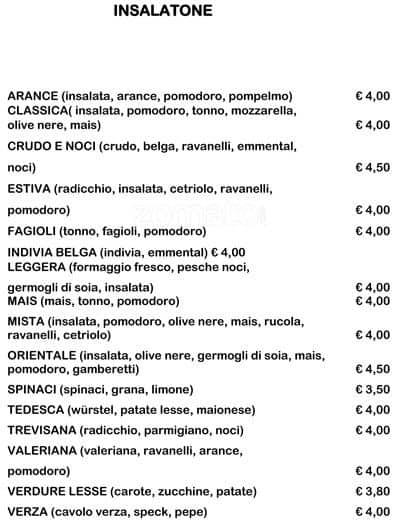 I Gustosi Menu, Menu for I Gustosi, Lambrate, Milano - Zomato Italy