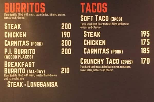 Arny dating s menu prices