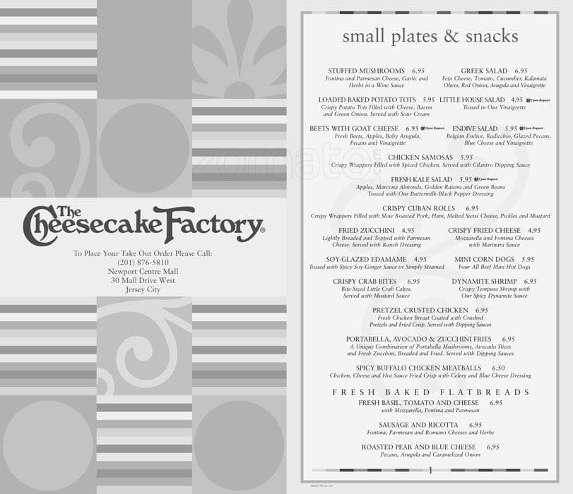 image regarding Printable Cheesecake Factory Menu referred to as Area Costs For United kingdom Information: Price ranges For The Cheesecake Manufacturing facility Menu