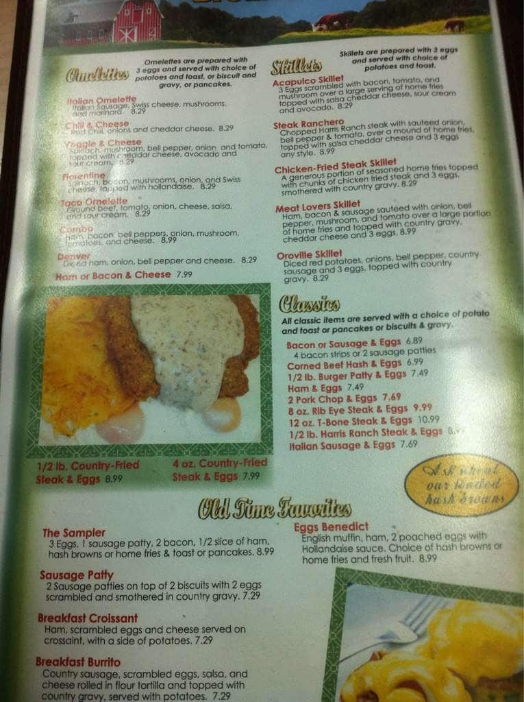 Gold City Grill Menu Menu for Gold City Grill Oroville Chico