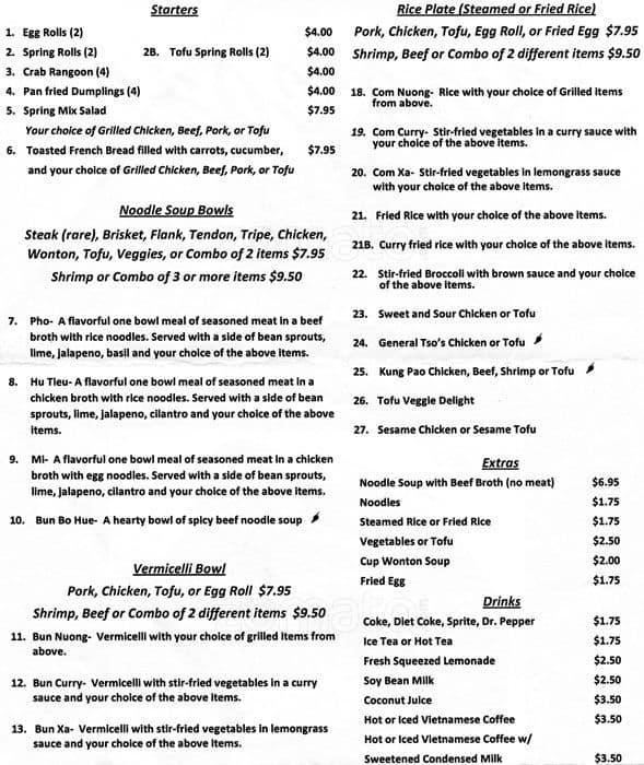 South Congress Cafe Menu Prices