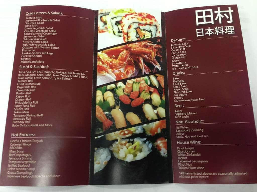 tamura japanese seafood buffet menu urbanspoon zomato rh zomato com seafood buffet miami south beach seafood buffet miami florida