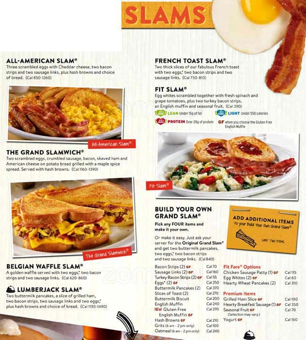 Make your way to Denny's to try out their limited-time menu