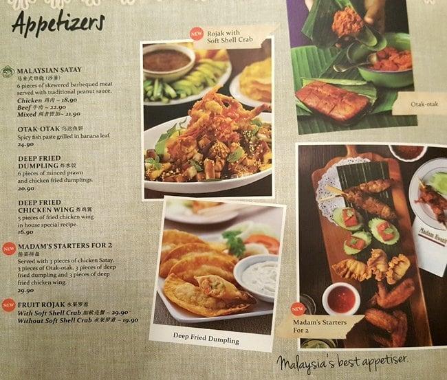 Thai Valley Restaurant Menu