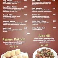 Invitation kacheguda hyderabad restaurant zomato scanned menu for invitation stopboris Choice Image