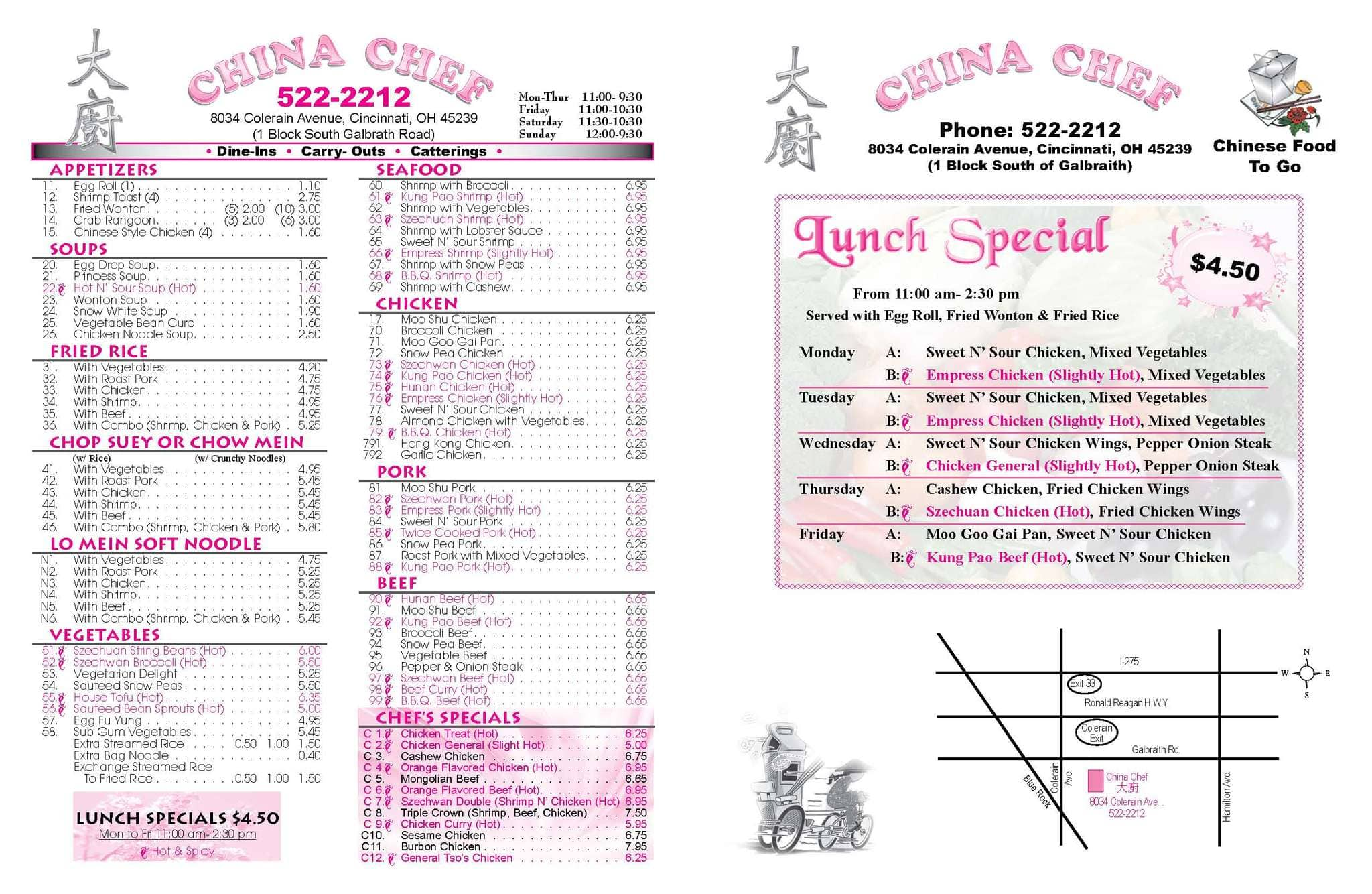 Chinese Food Delivery West Chester Ohio