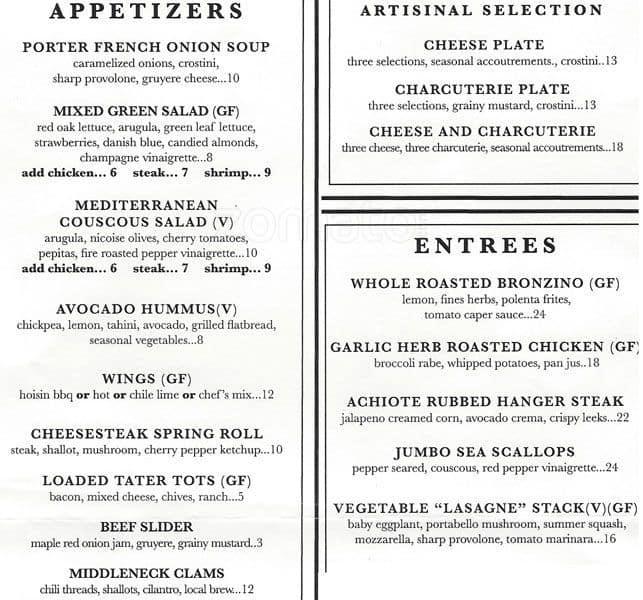 Rembrandt S Restaurant And Bar Menu Urbanspoon Zomato