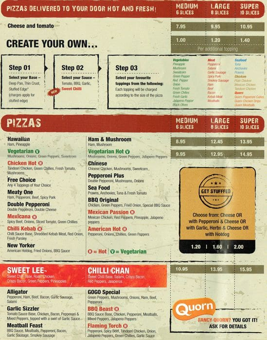 Pizza Gogo Menu Menu For Pizza Gogo Yiewsley London
