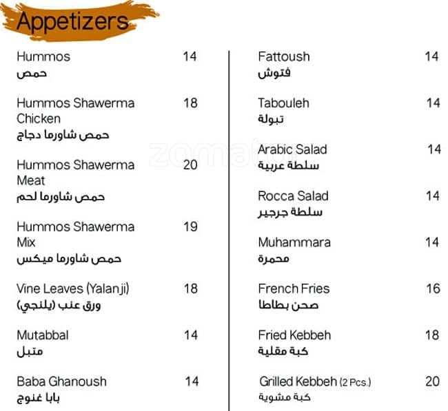 Terrace restaurant cafe menu zomato for Terrace restaurant menu