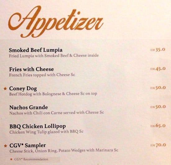 Blitzmegaplex cafe menu menu for blitzmegaplex cafe thamrin blitzmegaplex cafe thamrin menu reheart Gallery