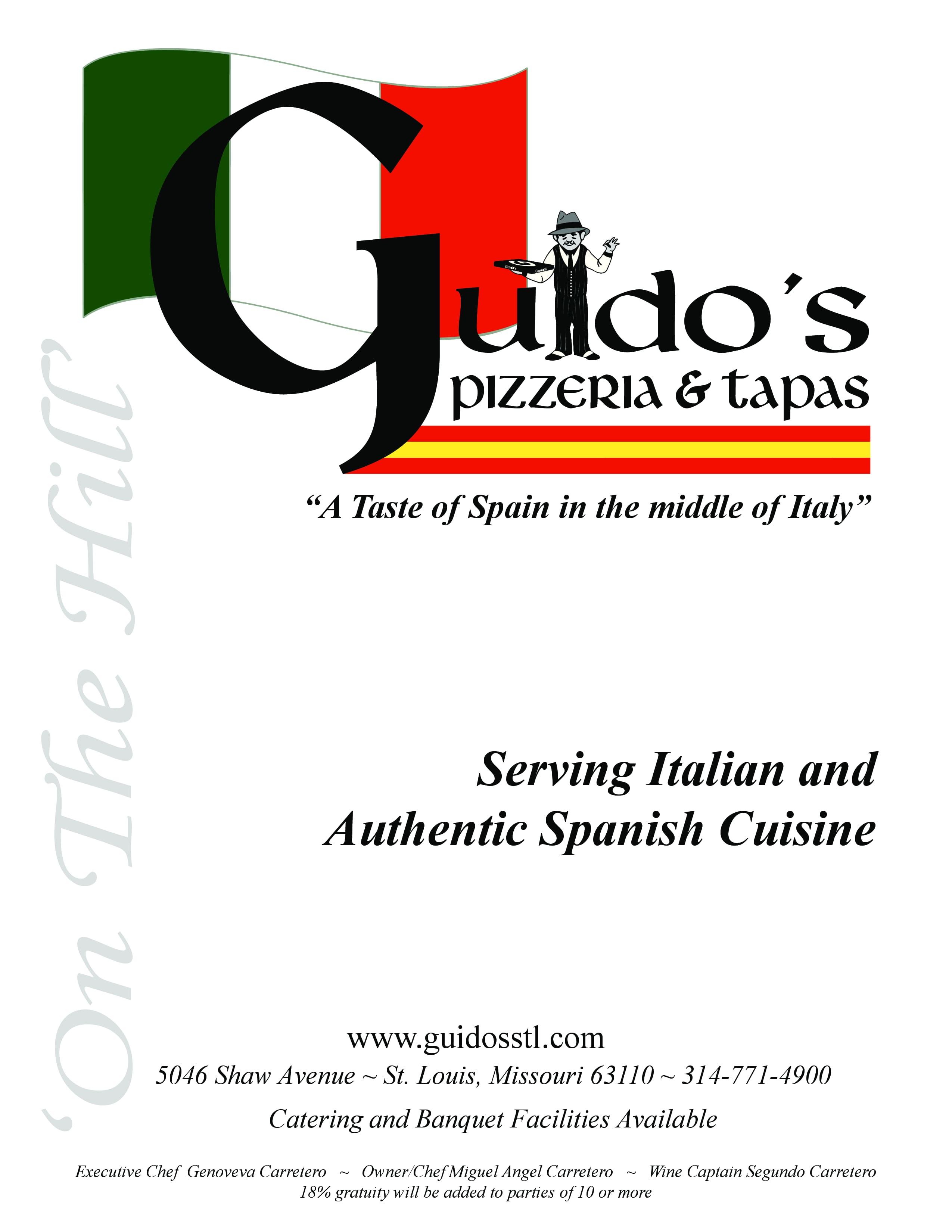 Guidos Pizzeria und Tapas