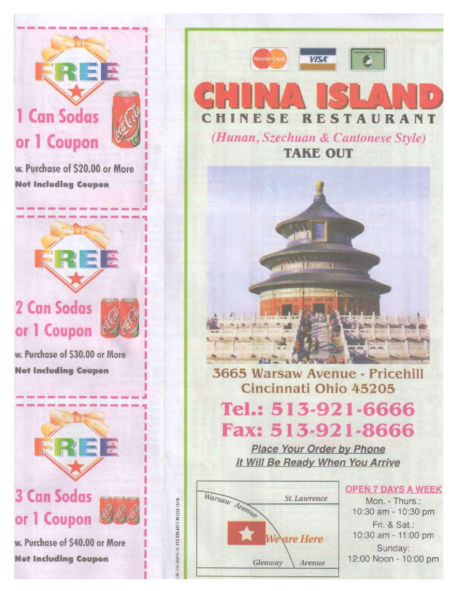 Chinese Food Clifton Oh