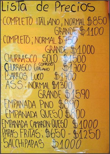 Cocina Mia   La Cocina Mia Menu Menu For La Cocina Mia Maipu Santiago Zomato