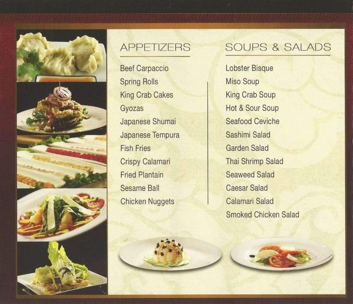 POC American Fusion Buffet Amp Sushi Menu Urbanspoon Zomato