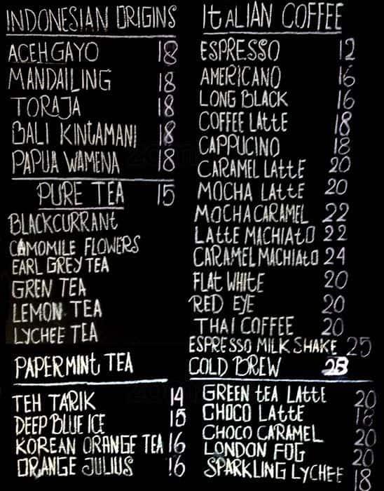 Brandhit Coffee Shop Menu, Menu for Brandhit Coffee Shop, Cibubur, Jakarta  Zomato Indonesia
