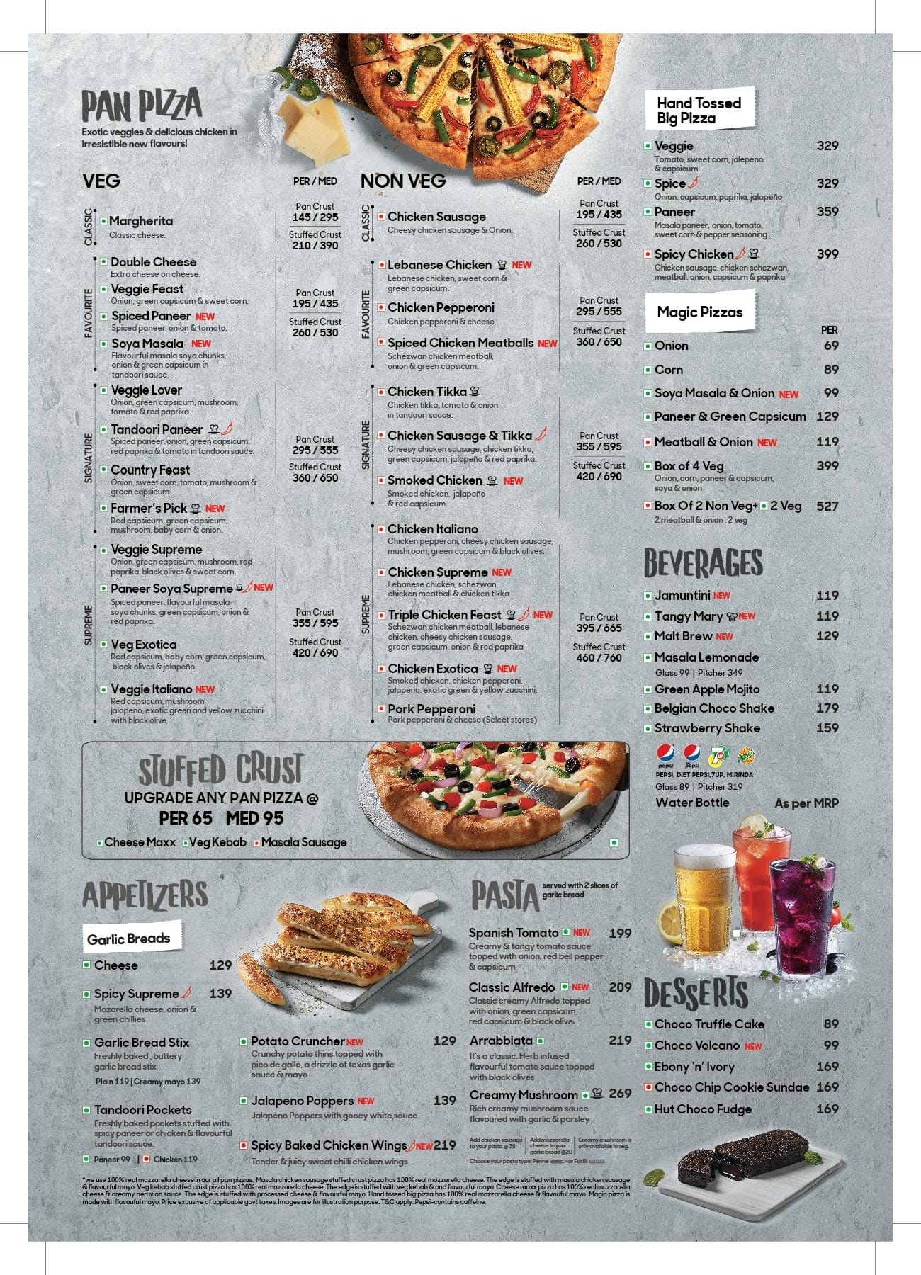 Pizza Hut Menu, Menu for Pizza Hut, Powai, Mumbai - Zomato