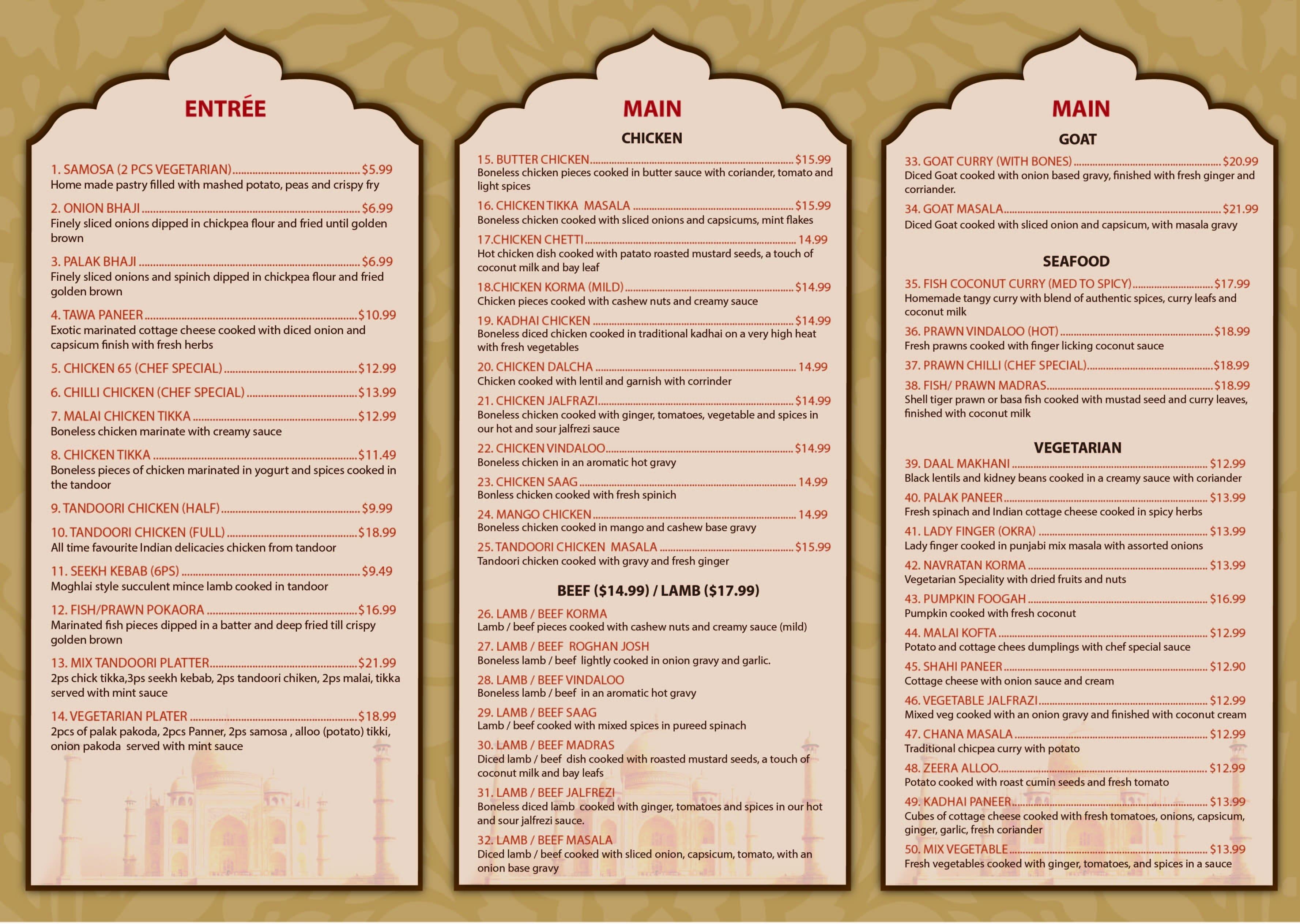 desi delight indian restaurant menu urbanspoon zomato. Black Bedroom Furniture Sets. Home Design Ideas
