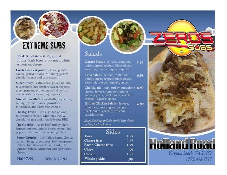 Sub Sandwich Delivery Virginia Beach