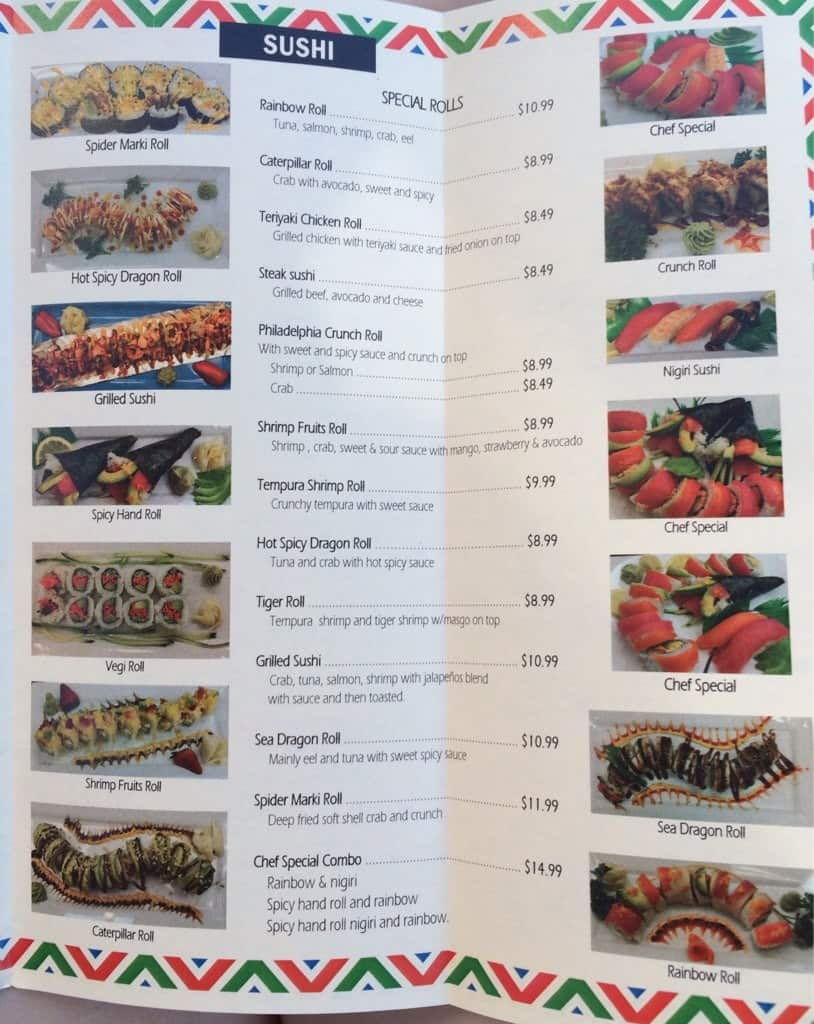 Bento Cafe Menu With Prices