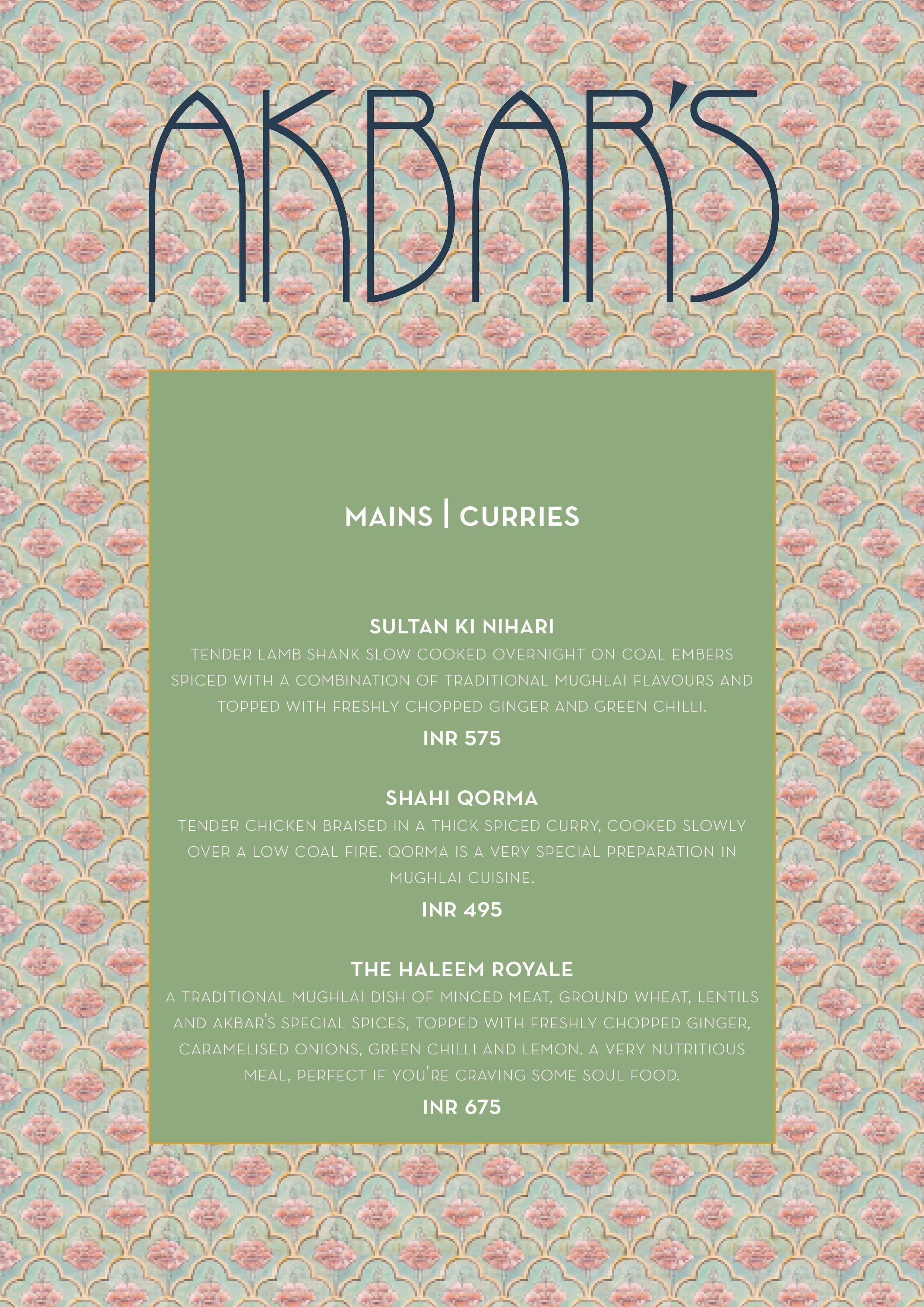 Akbars menu menu for akbars malviya nagar new delhi zomato akbars malviya nagar menu stopboris Image collections