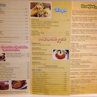 Latin Cafe Menu Margate