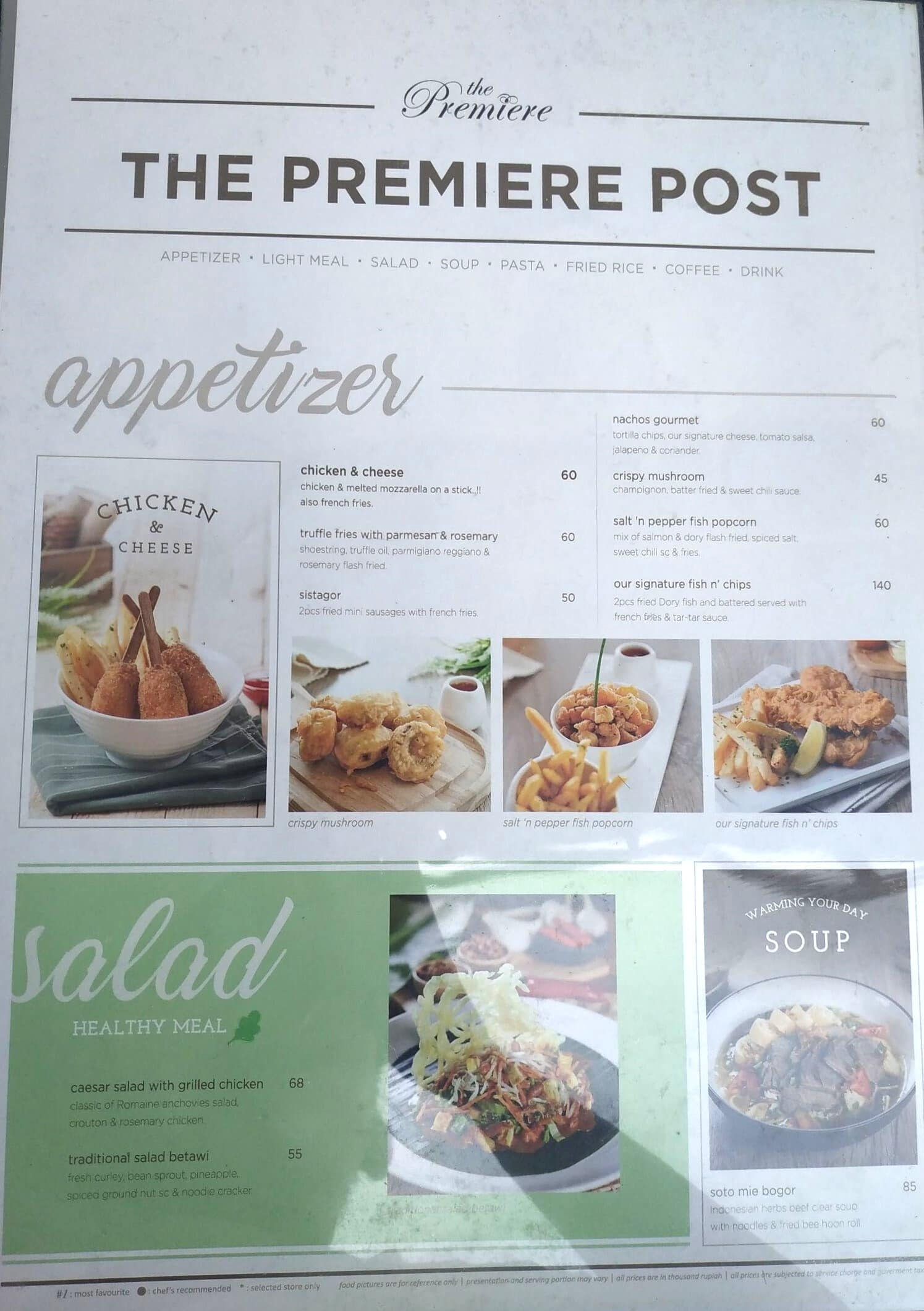 Garden Cafe Xxi Bintaro Plaza Menu Zomato Indonesia