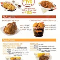 Kenny Rogers Roasters, Power Plant Mall, Rockwell, Makati ...