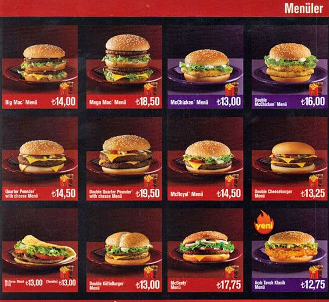 mcdonalds prices canada