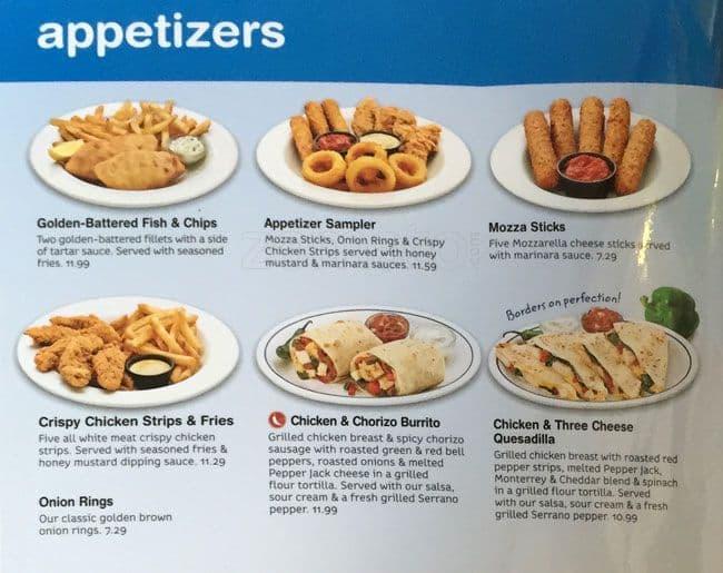 Ihop menu