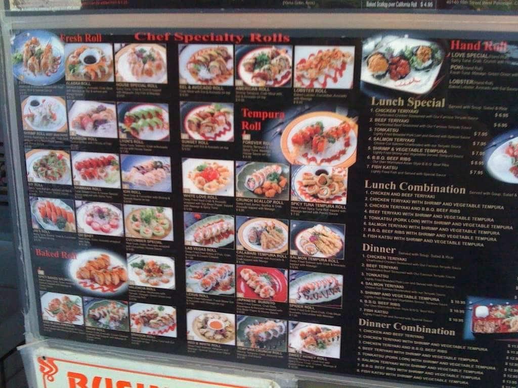I love sushi bakersfield