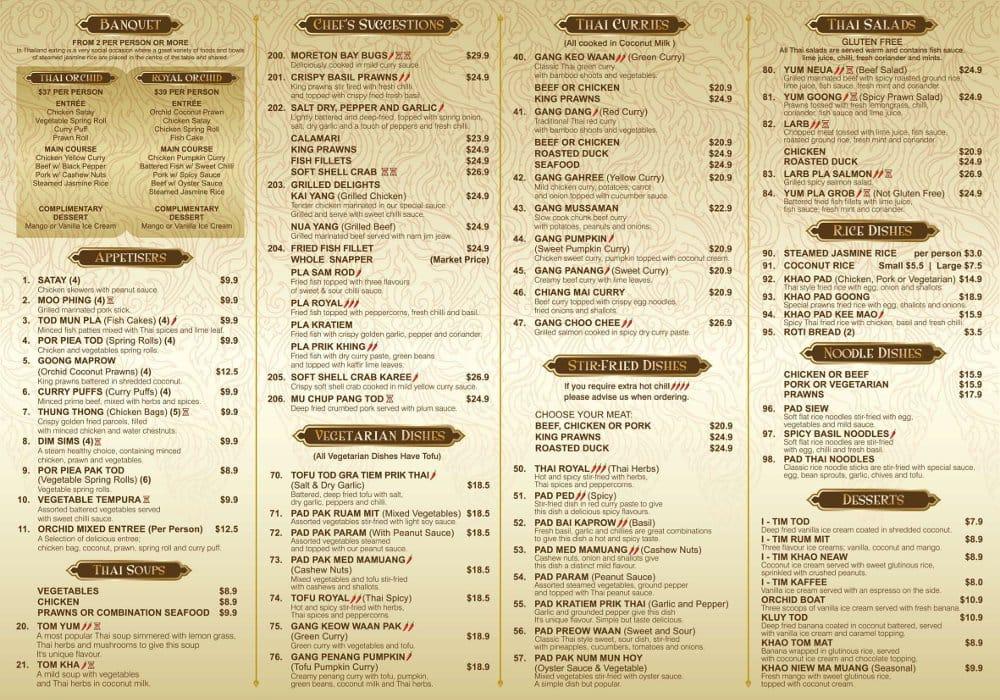 thai orchid menu related keywords thai orchid menu long tail keywords keywordsking