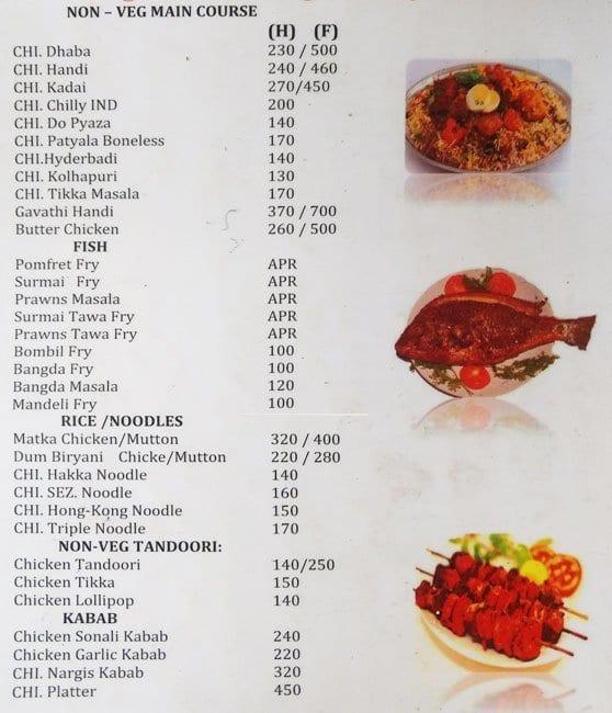 Hotel khana khazana menu menu for hotel khana khazana kalyan hotel khana khazana kalyan menu forumfinder Gallery