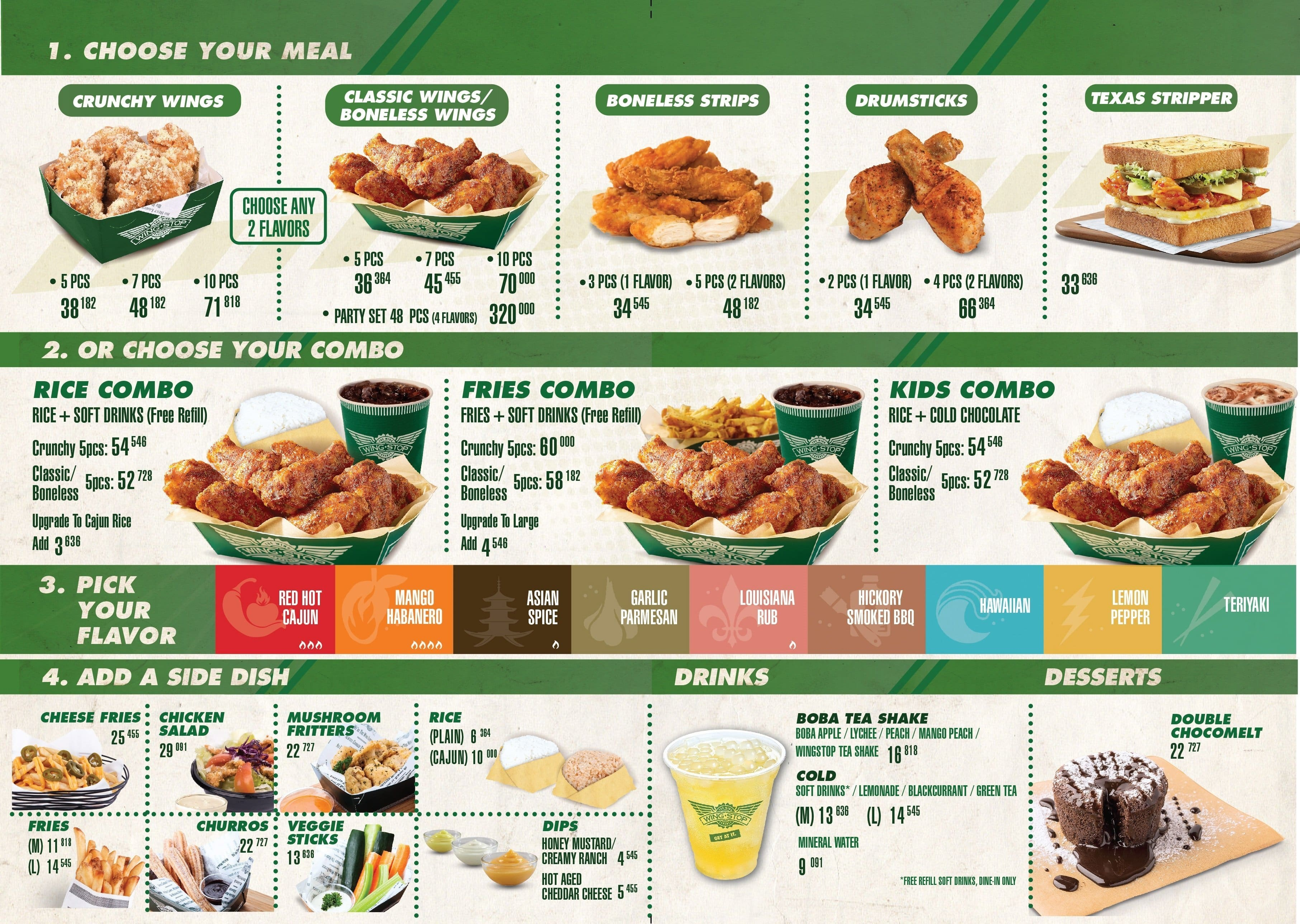 photograph about Wingstop Printable Menu known as Wingstop cafe - Sleeping bag with pillow